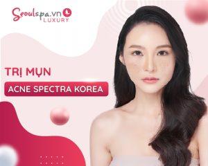 trị mụn acne spectra korea